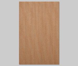 ツキ板 シート【モアビ柾目】0.4ミリ厚*A4:SSサイズ[Quick](和紙貼り/粘着付き)