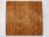 木のシール【ブビンガ】ウッドステッカー