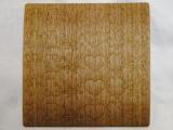 木のシール【ウォールナット】ウッドステッカー