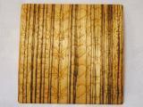 木のシール【ゼブラ】ウッドステッカー