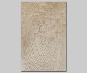 【セン杢目】A4サイズ(シール付き)天然木のツキ板シート「クイックタイプ」