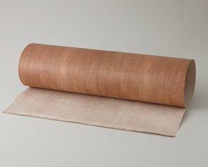 ツキ板 シート【アサダ板目】0.4ミリ厚*450*900:Sサイズ[Quickタイプ](和紙貼り/粘着付き)