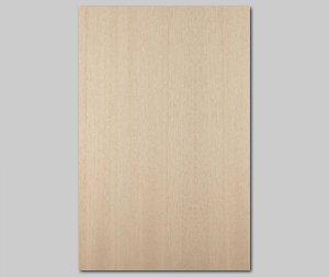 ツキ板 シート【アユース柾目】0.4ミリ厚A4:SSサイズ[Quickタイプ](和紙貼り/粘着付き)