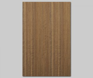 【オバンコール柾目】A4サイズ(シール付き)天然木のツキ板シート「クイックタイプ」