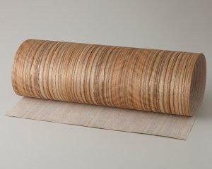 ツキ板 シート【サテンコール柾目】0.4ミリ厚*A4:SSサイズ[Quickタイプ](和紙貼り/粘着付き)
