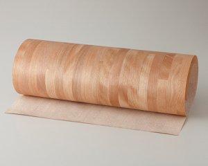 ツキ板 シート【カバブロック】0.4ミリ厚*450*900:Sサイズ[Quickタイプ](和紙貼り/粘着付き)