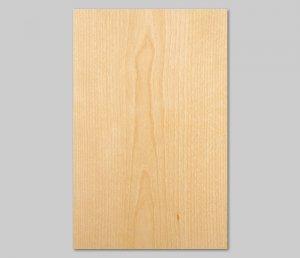 【ホワイトバーチ板目】A4サイズ(シール付き)天然木のツキ板シート「クイックタイプ」