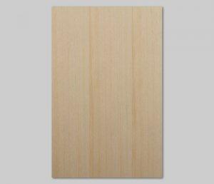 【ベイツガ柾目】A4サイズ(シール付き)天然木のツキ板シート「クイックタイプ」