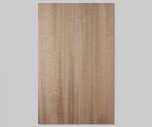 【パシフィックウォールナット柾目】A4サイズ(シール付き)天然木のツキ板シート「クイックタイプ」