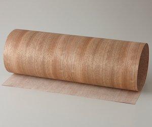 ツキ板 シート【パシフィックWN柾目】0.4ミリ厚*450*900:Sサイズ[Quick](和紙貼り/粘着付き)