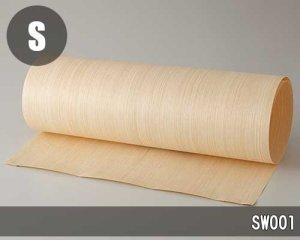 エンジニアウッドのツキ板シート【SW001】(Lサイズ)0.3ミリ厚Normalタイプ(和紙貼り/糊なし)