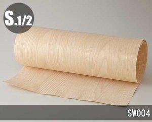 【SW004】450*1800(和紙貼り/糊なし)天然木エンジニアウッドのツキ板シート「ノーマルタイプ」
