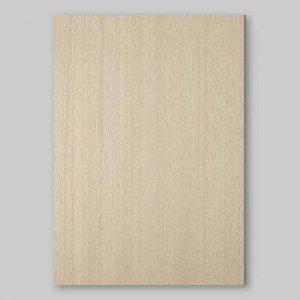 【サンプル】アユース柾目A4サイズ厚み0.5ミリのEasyタイプの天然木ツキ板シート