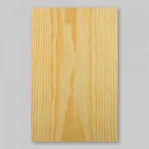 【サンプル】イエローパイン板目A4サイズ厚み0.5ミリのEasyタイプの天然木ツキ板シート
