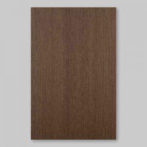【サンプル】ウェンジ柾目A4サイズ厚み0.5ミリのEasyタイプの天然木ツキ板シート