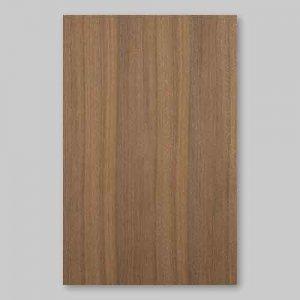 【サンプル】ウォールナット柾目A4サイズ厚み0.5ミリのEasyタイプの天然木ツキ板シート