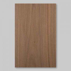 【ウォールナット板目】A4サイズ(特殊紙貼)天然木ツキ板シート「イージータイプ」