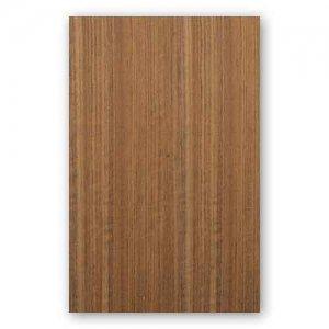 【サンプル】オバンコール柾目A4サイズ厚み0.5ミリのEasyタイプの天然木ツキ板シート
