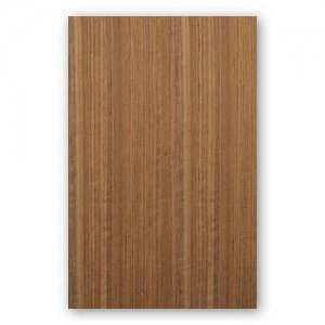 【オバンコール柾目】A4サイズ(特殊紙貼り)天然木のツキ板シート「イージータイプ」