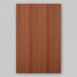 【サンプル】カリン柾目A4サイズ厚み0.5ミリのEasyタイプの天然木ツキ板シート