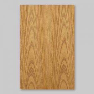 【ケヤキ板目】A4サイズ(特殊紙貼)天然木のツキ板シート「イージータイプ」