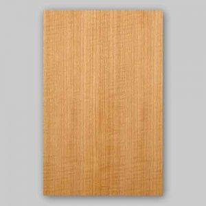 【サンプル】スギ柾目A4サイズ厚み0.5ミリのEasyタイプの天然木ツキ板シート