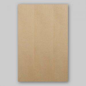 【サンプル】スプルース柾目A4サイズ厚み0.5ミリのEasyタイプの天然木ツキ板シート