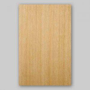 【サンプル】セン柾目A4サイズ厚み0.5ミリのEasyタイプの天然木ツキ板シート