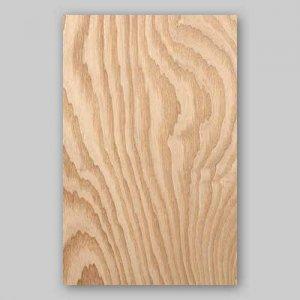 【サンプル】タモ杢目A4サイズ厚み0.5ミリのEasyタイプの天然木ツキ板シート