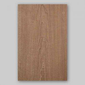 【サンプル】チーク板目A4サイズ厚み0.5ミリのEasyタイプの天然木ツキ板シート