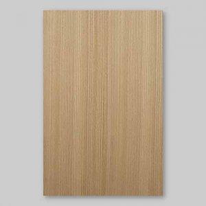 【サンプル】ニレ柾目A4サイズ厚み0.5ミリのEasyタイプの天然木ツキ板シート