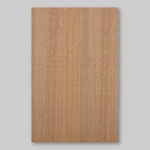 【サンプル】ニヤト柾目A4サイズ厚み0.5ミリのEasyタイプの天然木ツキ板シート