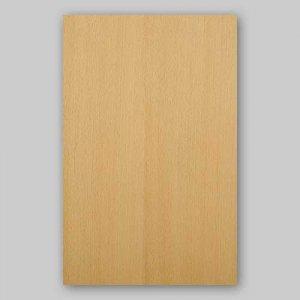 【サンプル】ブナ柾目A4サイズ厚み0.5ミリのEasyタイプの天然木ツキ板シート