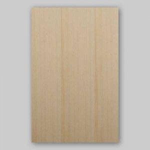 【ベイツガ柾目】A4サイズ(特殊紙貼)天然木のツキ板シート「イージータイプ」
