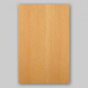 【サンプル】ベイマツ柾目A4サイズ厚み0.5ミリのEasyタイプの天然木ツキ板シート