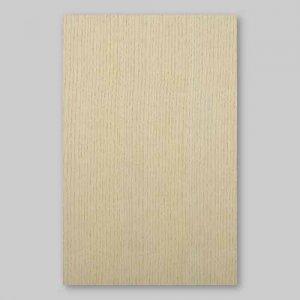 【サンプル】ホワイトアッシュ柾目A4サイズ厚み0.5ミリのEasyタイプの天然木ツキ板シート