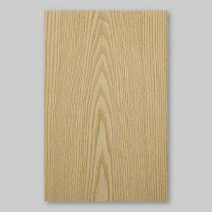 【サンプル】ホワイトアッシュ板目A4サイズ厚み0.5ミリのEasyタイプの天然木ツキ板シート