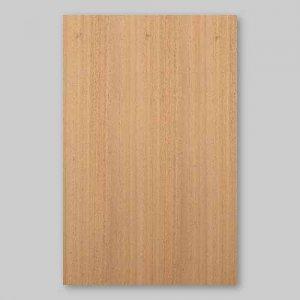 【サンプル】マホガニー柾目A4サイズ厚み0.5ミリのEasyタイプの天然木ツキ板シート