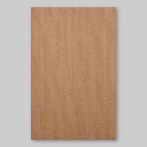 【サンプル】モアビ柾目A4サイズ厚み0.5ミリのEasyタイプの天然木ツキ板シート