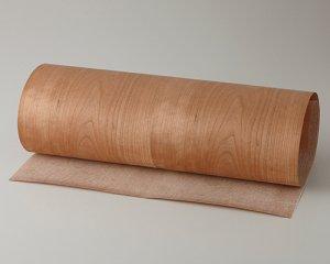 ツキ板 シート【Aチェリー板目】0.4ミリ厚*450*1800:Mサイズ[Quickタイプ](和紙貼り/粘着付き)