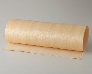 ツキ板 シート【アユース柾目】0.4ミリ厚*450*1800:Mサイズ[Quickタイプ](和紙貼り/粘着付き)