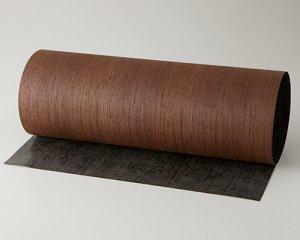 ツキ板 シート【ウェンジ柾目】0.4ミリ厚*450*1800:Mサイズ[Quickタイプ](和紙貼り/粘着付き)