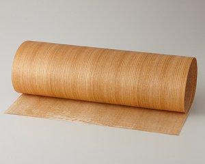 ツキ板 シート【ケヤキ柾目】0.4ミリ厚*450*1800:Mサイズ[Quickタイプ](和紙貼り/粘着付き)
