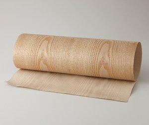 ツキ板 シート【ササフラス板目】0.4ミリ厚*450*1800:Mサイズ[Quickタイプ](和紙貼り/粘着付き)
