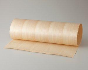 ツキ板 シート【シナ柾目】0.4ミリ厚*450*1800:Mサイズ[Quickタイプ](和紙貼り/粘着付き)