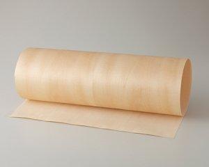 ツキ板 シート【シナ板目】0.4ミリ厚*450*1800:Mサイズ[Quickタイプ](和紙貼り/粘着付き)