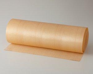 ツキ板 シート【スプルース柾目】0.4ミリ厚*450*1800:Mサイズ[Quickタイプ](和紙貼り/粘着付き)