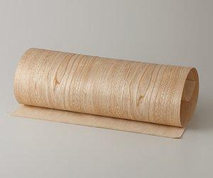 ツキ板 シート【セン板目】0.4ミリ厚*450*1800:Mサイズ[Quickタイプ](和紙貼り/粘着付き)