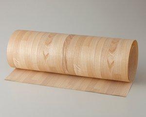 ツキ板 シート【センブロック】0.4ミリ厚*450*1800:Mサイズ[Quickタイプ](和紙貼り/粘着付き)