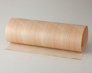 ツキ板 シート【タモ柾目】0.4ミリ厚*450*1800:Mサイズ[Quickタイプ](和紙貼り/粘着付き)